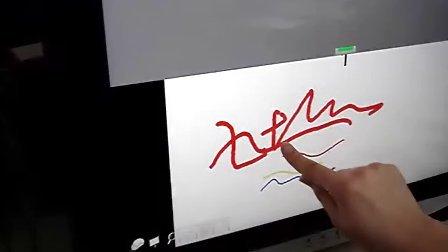 电子白板软件在CCD触摸屏上的使用