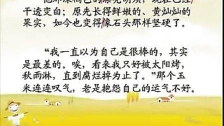 小学二年级语文优质课展示《最后的玉米》