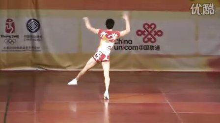 2008全国健美操锦标赛精英组男子单人操(王佩)