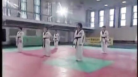 【侯韧杰 TKD 教学篇】之崔永福跆拳道22