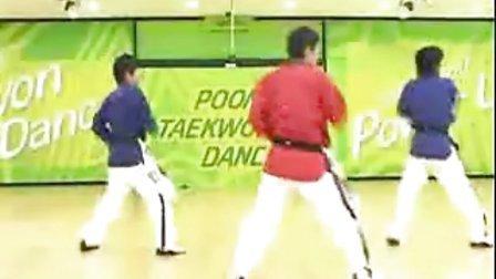 【侯韧杰 TKD 教学篇】之 MOTOO官方跆拳道舞教学14