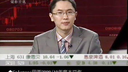 09年9月23日孟一CCTV证券资讯-期货时间
