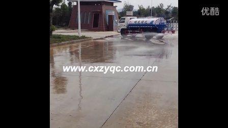 楚欣环卫车之洒水车展示  洒水车视频www.cxzyqc.com.cn