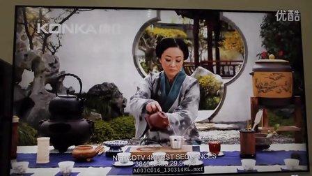 KKTV电视机4K片源HDMI点对点直推效果
