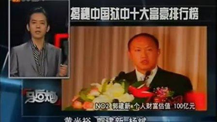 揭秘中国狱中十大富豪排行榜
