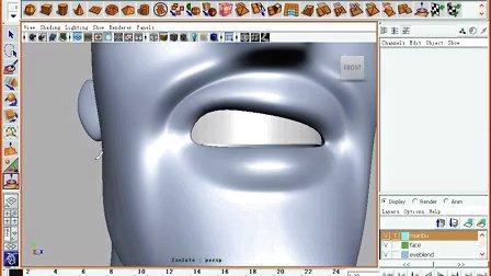 盛世玛雅maya教程面部绑定20.由qq:1547842894转载