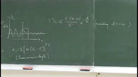 国立交通大学开放课程,量子力學導論,961114
