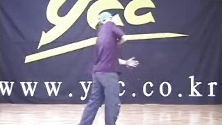 韩国街舞基本进阶舞步教学视频9(www.xakkw.com)