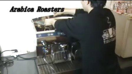 专业半自动咖啡机水压调节培训视频