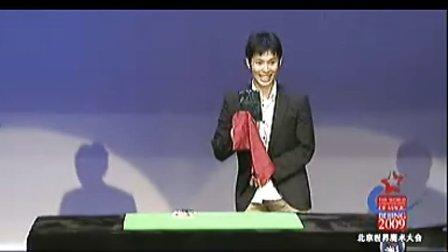 近景魔术 火机硬币(09)奥野俊也(日本)