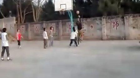 环山小学师生篮球友谊赛