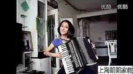 美女手风琴演奏《多瑙河之波》  标清
