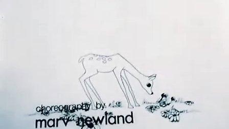 世界经典动画短片合集【小鹿班比遇见哥斯拉 Bambi Meets Godzilla】 1969