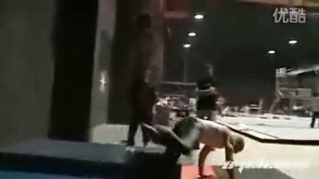【忍者刺客】片场真功夫对练