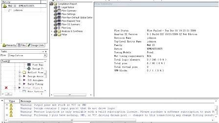 《深入浅出玩转FPGA》Lesson10 BJ-EPM240学习板实验3——Johnson计数器实验
