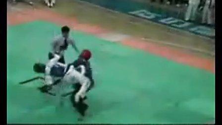 【侯韧杰 TKD 精华篇】之  跆拳道这个视频我喜欢