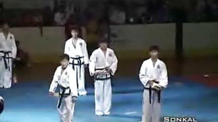 【侯韧杰 TKD 表演篇】之  国际跆拳道联盟 sonkal