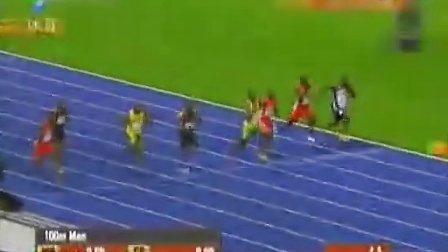 9秒58!博尔特再破世界纪录高清