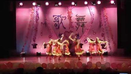 中南民族大学民族研究会——藏舞《吉祥谣》