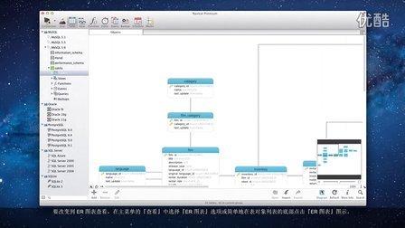 如何在 Navicat 转换到 ER 图表查看?(Mac OS X)