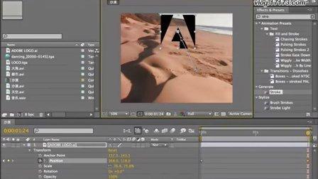 AE教程-李涛高手之路-动画与关键帧设置