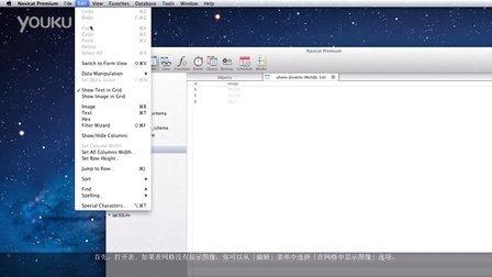 如何导入二进位数据到你的表或从你的表导出二进制数据?(Mac OS X)
