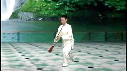 陈思坦42式太极剑4 第1段2背面示范