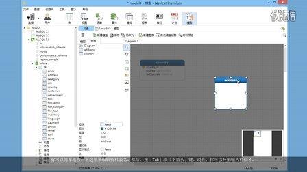 如何在 Navicat 的模型设计器中应用栏位类型预测功能?(Windows & Linux)