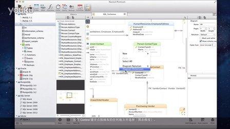 如何在 Navicat 为你的模型调整页面设置、图表维度和打印?(Mac OS X)