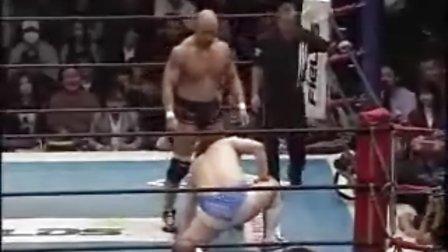 2009.12.22 新日本摔角 男色ディーノ vs 邪道