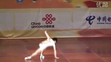 2008全国健美操锦标赛男子单人操(李萌)