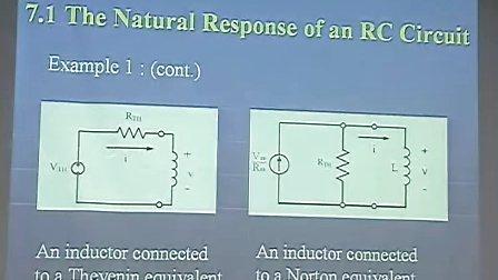 電路學 Electric Circuits 7-1