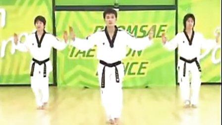 【侯韧杰 TKD 教学篇】之 MOTOO官方跆拳道舞教学20