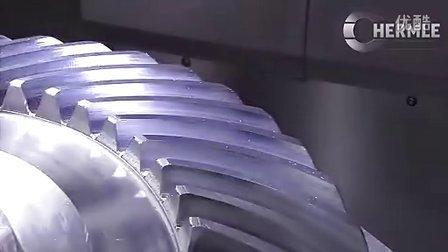 五轴数控机床加工中心-螺旋伞齿轮 高清