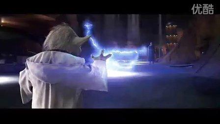 《星球大战前传2》片段之尤达大师