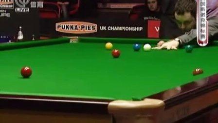 2009斯诺克英锦赛半决赛-丁俊晖VS马奎尔.最后两局