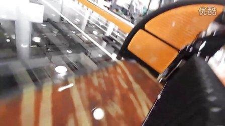 Dip-Tech GlassJet机器打印大型玻璃工作视频