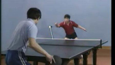 乒乓球弧圈快攻打法