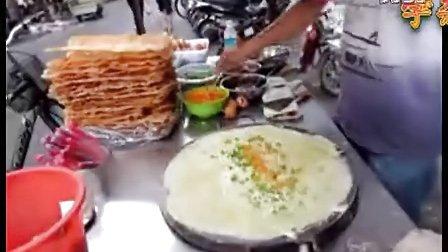 郑州王师傅杂粮煎饼的做法-杂粮煎饼的制作-杂粮煎饼培训杂粮