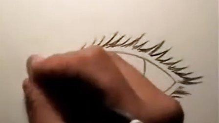 漫画教学:画逼真的眼睛 - Mark Crilley