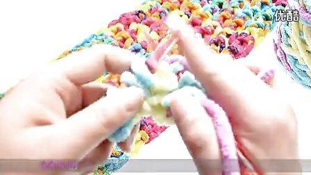 情侣扣围巾的织法