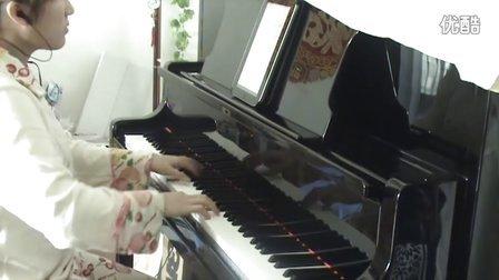 烟花易冷 伽蓝雨 钢琴视奏版_tan8.com