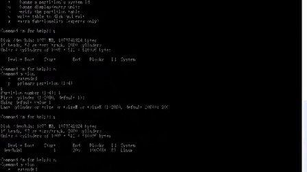 的分区格式化操作----PHP——LAMP兄弟连原创视频教程