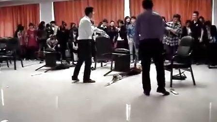 沈阳新东北职业培训学校人力资源班互动游戏视频