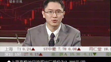 09年10月20日CCTV证券资讯-期货时间