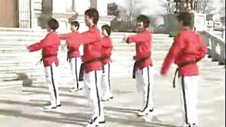 【侯韧杰 TKD 教学篇】之 MOTOO官方跆拳道舞教学1