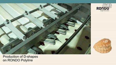 RONDO瑞士龙都Polyline整形生产线:D字母形酥点产品方案