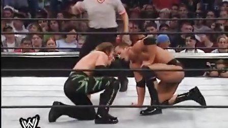 No Mercy 2001 The Rock vs. Chris Jericho WCW 世界重量级冠军