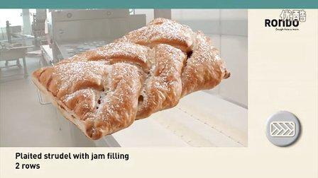 RONDO瑞士龙都:Plaited辫子酥自动成形生产线
