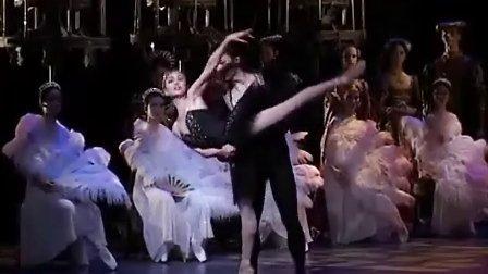 芭蕾舞 天鹅湖 黑天鹅双人舞(港芭 前首席梁菲)